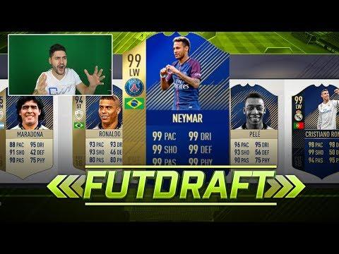 ZEUL NEYMAR 😍 !!!! FIFA 18 DRAFT SPRE GLORIE #16