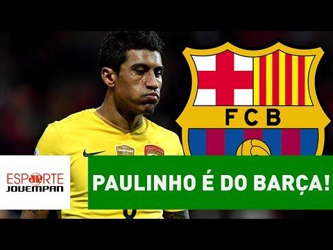 Torcida do Barça NÃO aprovou a contratação de PAULINHO!