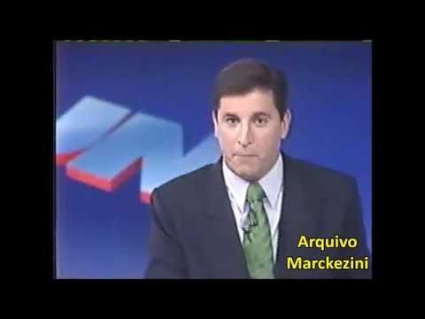 Jornal Nacional - Nascem Os Filhos De William E Fátima (Globo/1997)
