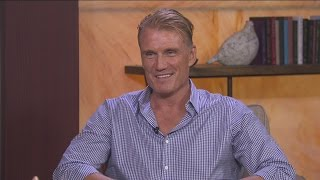 Dolph Lundgren has two movies this fall and a TED talk on the way