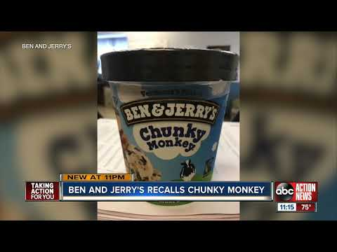 Nathalie Rodriguez - Ben & Jerry's Recalls Some Chunky Monkey, Coconut Seven Layer Bars