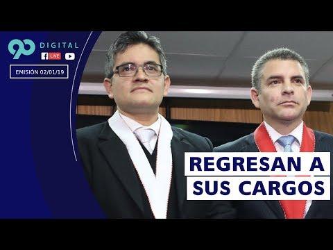 #90Digital 2-1-19: Chávarry repone a Vela y Pérez en equipo especial Lava Jato