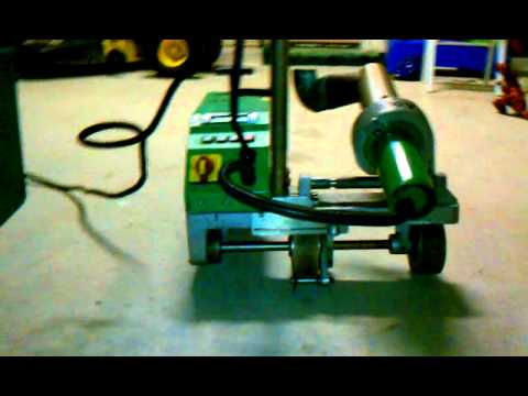 Leister Varimat Roofing Robot For Sale Youtube