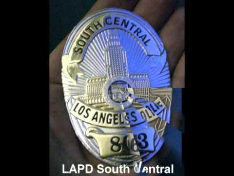 Collection of the most wanted police badges ( FBI, DEA, LAPD, NYPD, Marshals)