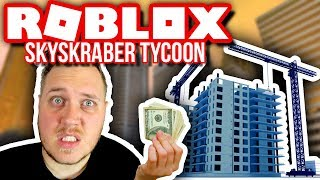 😵 DROPPER COSTS 7.5 MILLION 💲🏢:: Vercinger in Roblox Skyscraper Factory Tycoon English Ep. 3