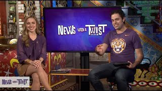 News With a Twist: K-Lo and Pey-Lo on the Weekend Show