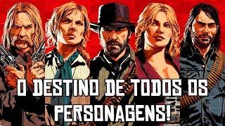 Red Dead Redemption 2 - O FINAL DE TODOS OS MEMBROS DA GANGUE EXPLICADO!