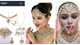 amazon jewellery|Bridal jewellery online|bridal jewellery at Amazon|amazon online shopping review