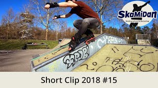 Short Clip 2018#15 – Five Basic Soul Grinds – Daily Skating Day 1 To Day 4