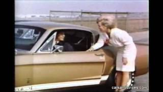 1967 Shelby Mustang GT with Carroll Shelby - Original color commercial