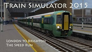 Train Simulator 2015 - Route Learning: London to Brighton - The Speed Run (Class 377)