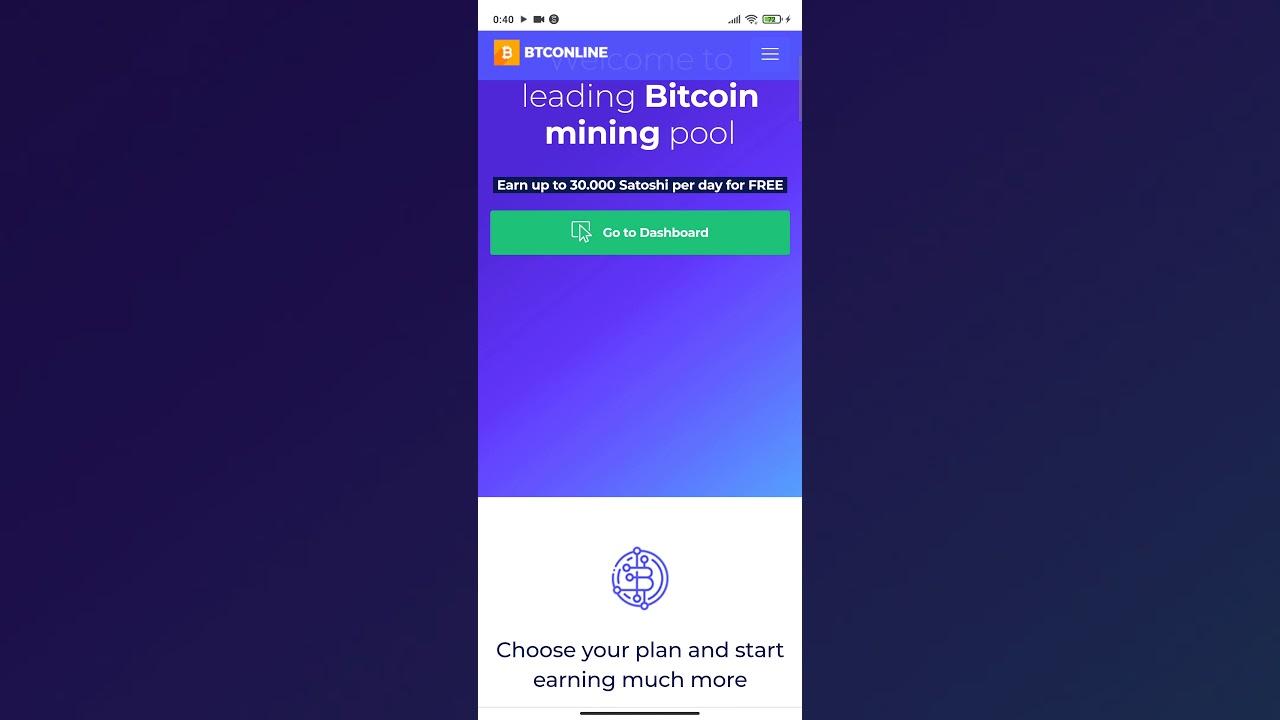 Btconline Free Mining Youtube