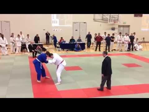 Final of All Ireland inter-varsities Judo Championship 2015 between NUIG vs UCC