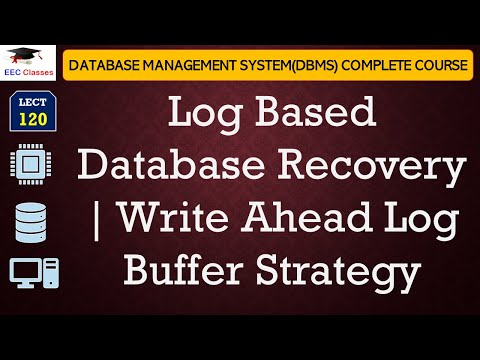 Log Based Database Recovery, Write Ahead Log Buffer Strategy