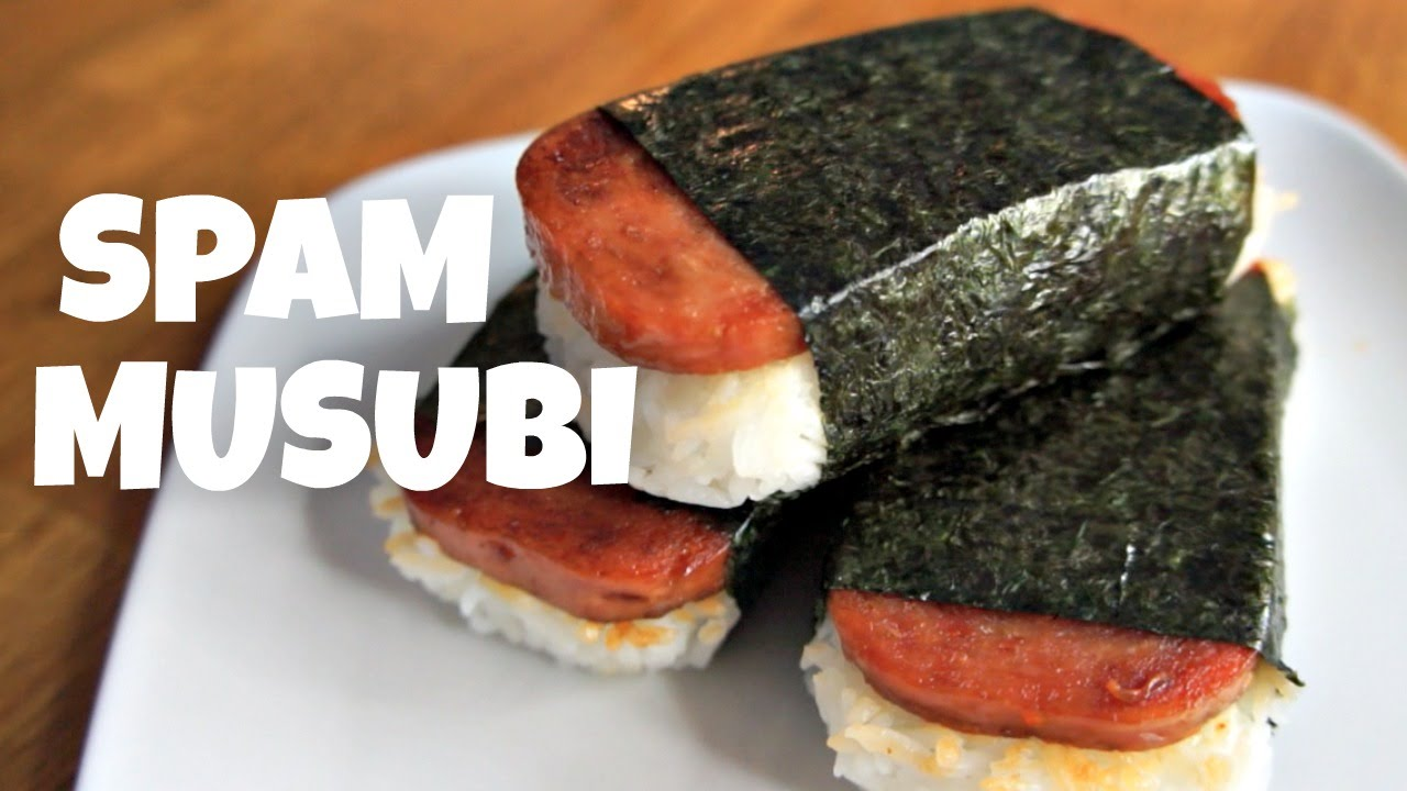 Spam Musubi Recipe You Made What Youtube