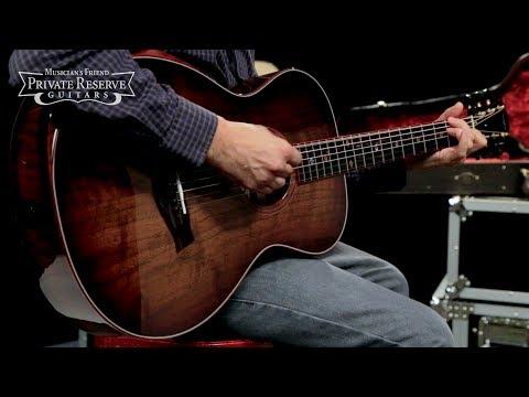 Taylor Custom #10028 12-Fret Grand Concert Acoustic-Electric Guitar