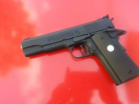 ทดสอบ Army R29 M1911 GoldCup Gas Blowback
