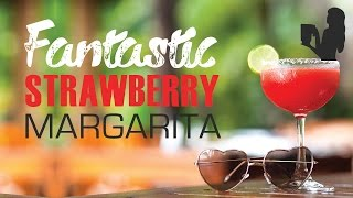 Fantastic Strawberry Margarita Recipe Made Using A Vitamix Or Blendtec Blender