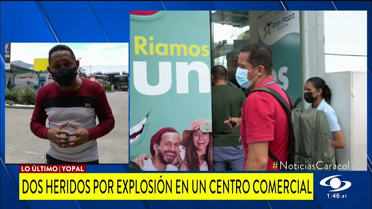 EXPLOSIÓN EN CENTRO COMERCIAL ÉXITO EN YOPAL