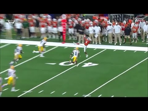 Moss Snags Two LSU Touchdowns in CFP Championship