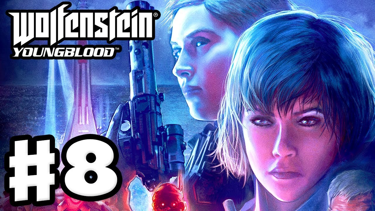 Wolfenstein: Youngblood - Gameplay Walkthrough Part 8 - Lots of Sidequests!  (PC)