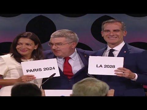 Paris wins bid for 2024 Olympics, LA to host in 2028