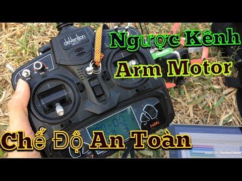 Ngược kênh - Khởi động motor - Chế độ an toàn trên Devo 7 - KimGuNi