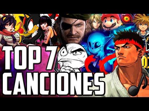Las 7 Mejores Canciones En Los Videojuegos (ARCADE EDITION)