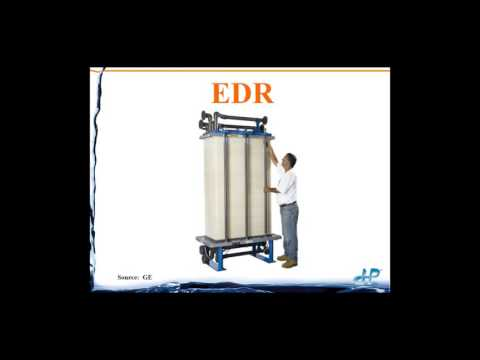 Water & Wastewater Minimization Using Electrodialysis Reversal (EDR)