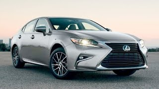 2016 Lexus ES350 Start Up and Review 3.5 L V6