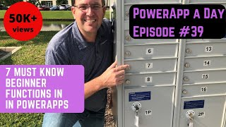 7 Beginner PowerApps Functions You Must Learn First