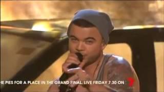 Guy Sebastian Feat. Lupe Fiasco - Battle Scars - Live in Australia - The X Factor Australia 2012