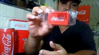 Mini garrafinhas promoção Coca Cola 2014