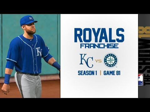 MLB The Show 18: Royals Franchise @ Mariners [G81, S1]