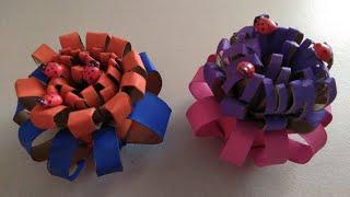 Toilet paper flower sport videos flowers made out of toilet paper rolls creative flower mightylinksfo