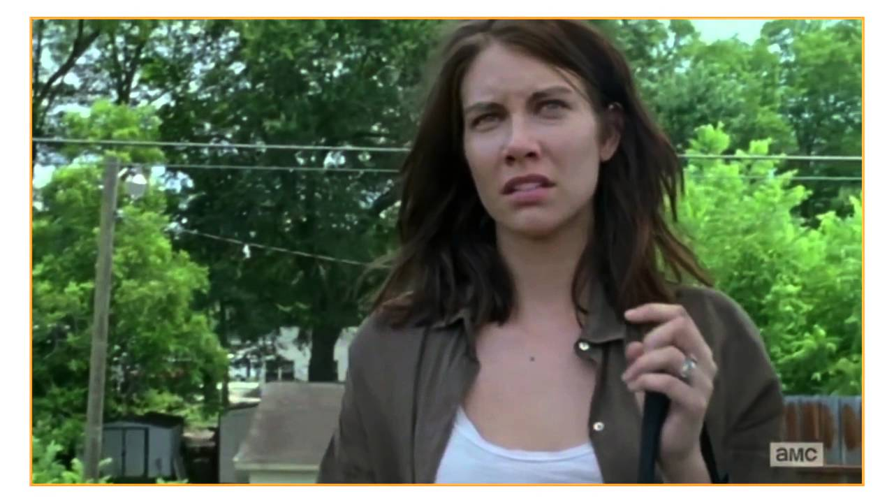 The Walking Dead Scene That Made Lauren Cohan Want To -6090