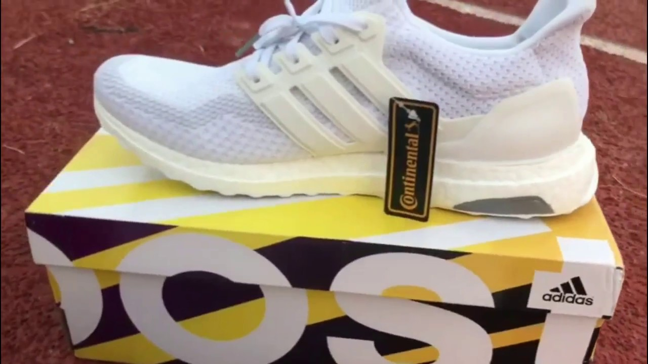 2306921807e Giveaway !!Adidas Ultra Boost Triple White 2.0 Unboxing - YouTube