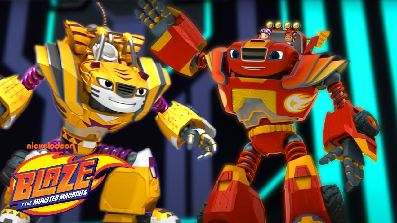 Download Blaze Robots to the Rescue! | Blaze and the Monster Machines