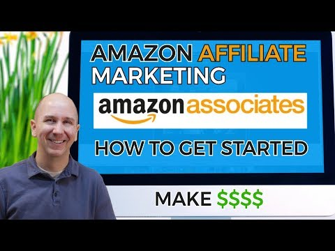 Amazon Affiliate Marketing | How to Get Started | Tutorial thumbnail