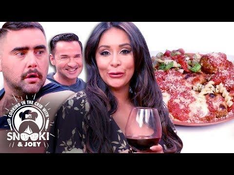 Snooki's Italian Dinner Secrets ft. The Situation | Cooking in the Crib w/ Snooki & Joey