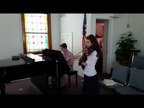 El Shaddai with Piano and Viola, Arranged by Emily Singleton
