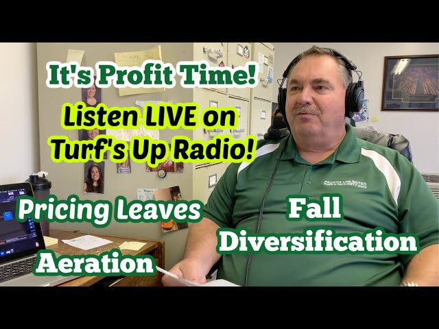 Aeration and Fall Diversification: A Snippet of Profit Time