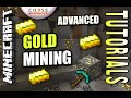 Minecraft PS4 - GOLD MINING - ADVANCED - How To - Tutorial ( PS3 / XBOX )