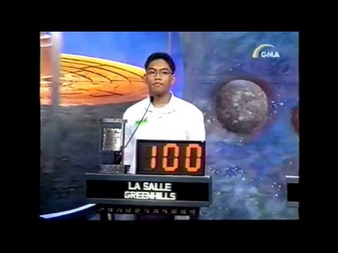 Digital LG Quiz 1st Grand Finals (2000)