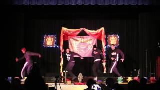 Break dancers from Project 401 - URI ISA Diwali 2016