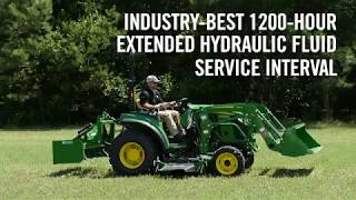 New 2017 John Deere 2032R and 2038R Compact Utility Tractors