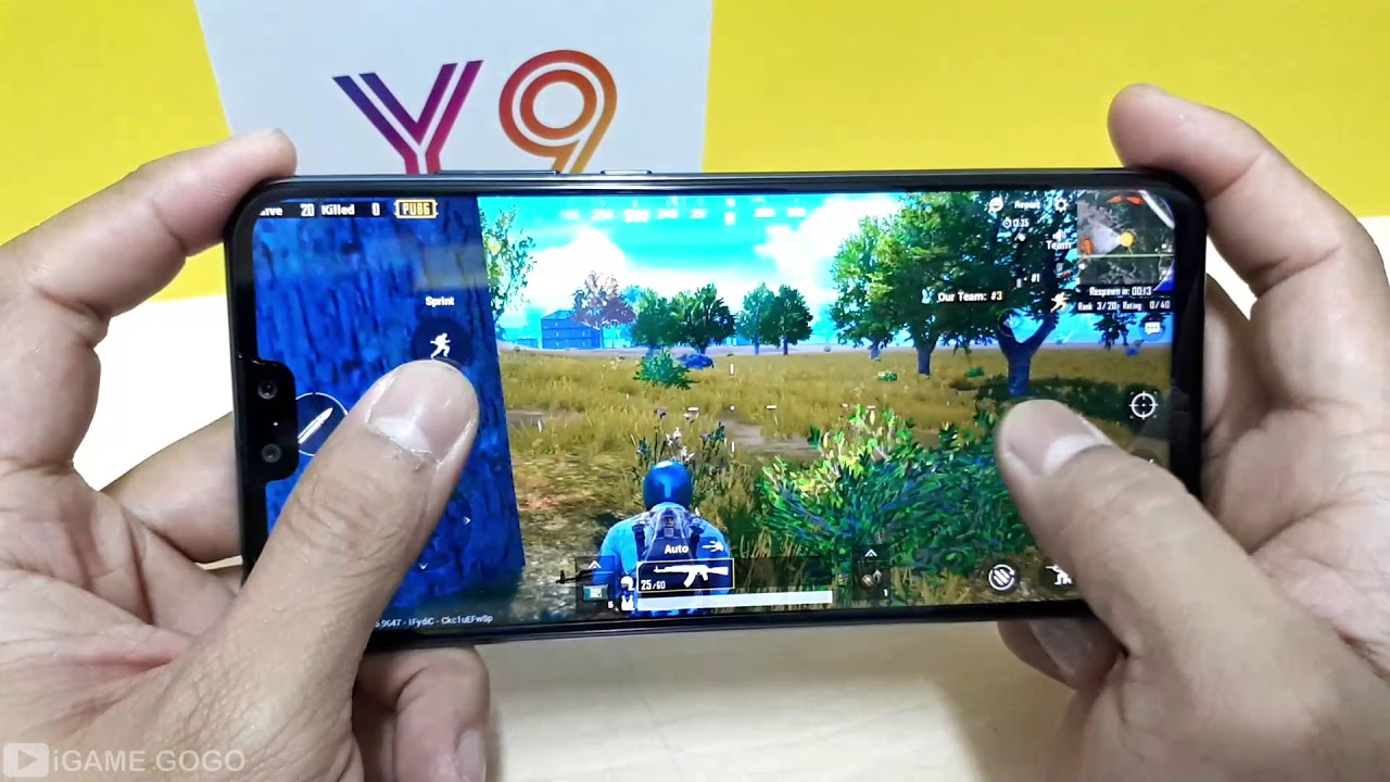 Huawei Y9 2019 Test Game Pubg Mobile