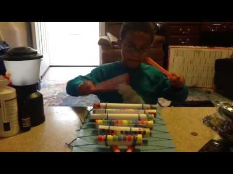 Paper Xylophone
