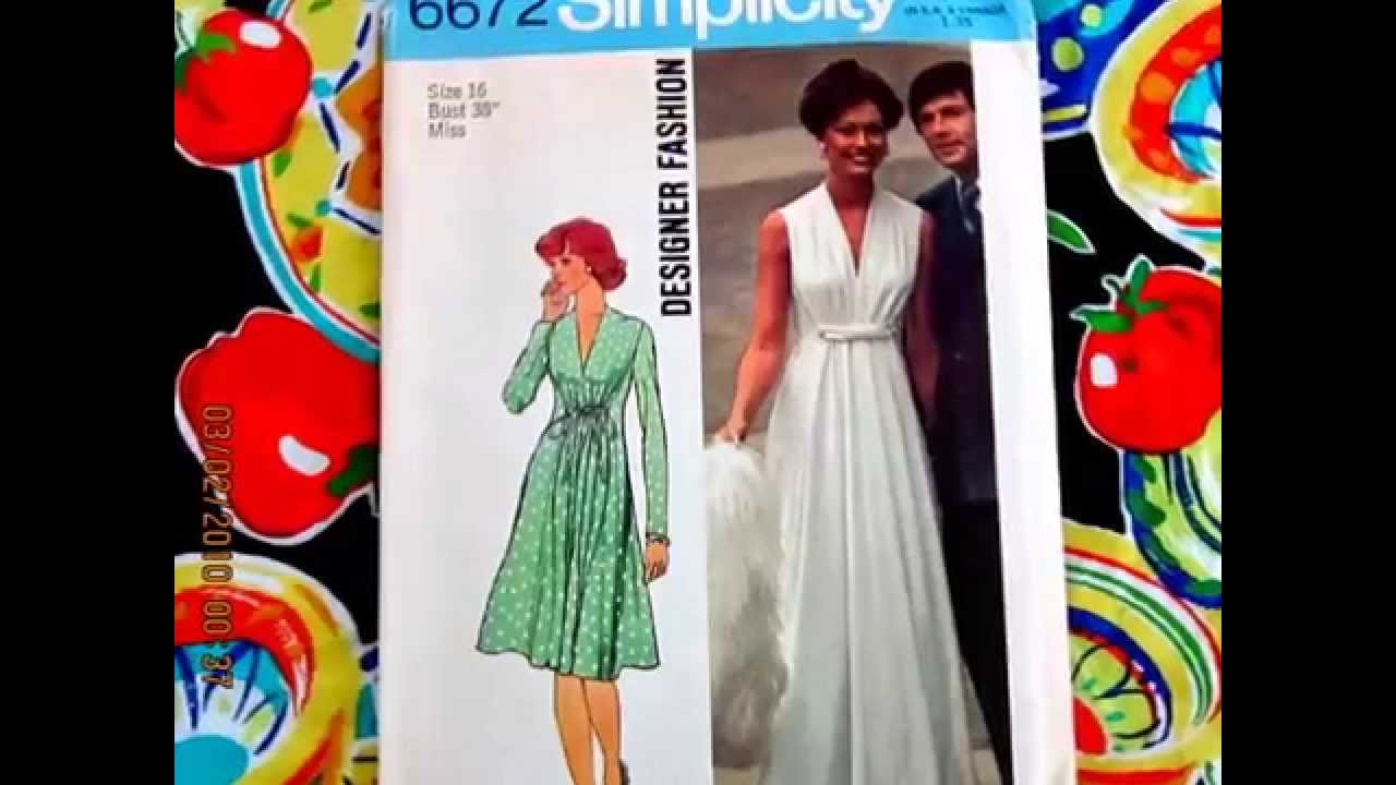 Vogue, Simplicity and Other Sewing Patterns For Sale On Ebay At ...