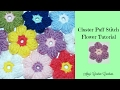 Crochet Cluster Puff Stitch Flower Tutorial - Crochet Jewel
